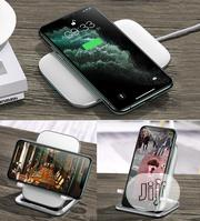 Baseus Rib Horizontal & Vertical Holder Wireless Charger | Accessories for Mobile Phones & Tablets for sale in Lagos State, Ikeja