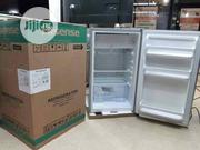 New Hisense Table Top Fridge 100L ( REF100DR) Silver Color | Kitchen Appliances for sale in Lagos State, Ojo