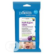 Dr Browns Baby Mouth and Gum Wipes | Baby & Child Care for sale in Abuja (FCT) State, Gwarinpa
