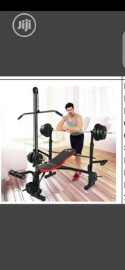 Commercial Weight Bench Press With Pull Out | Sports Equipment for sale in Lagos State, Surulere