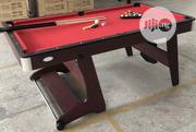 6ft Foldable Snooker Table With Accessories | Sports Equipment for sale in Lagos State, Surulere