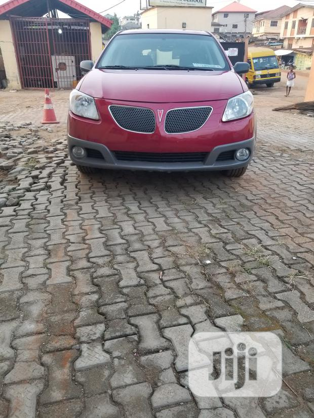 Archive: Pontiac Vibe 2006 AWD Red
