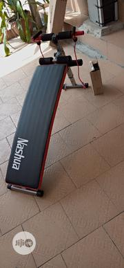 Exercise Body Trimmer Sit Up Bench With Aerobic Dumbbells and Rope | Sports Equipment for sale in Lagos State, Surulere