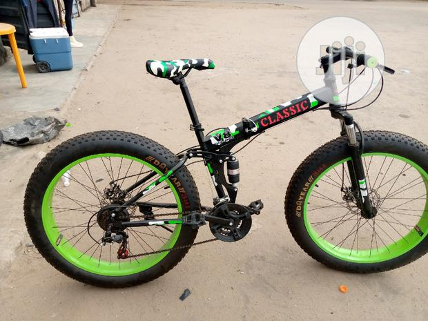 Fat Tyre Adult Sport Bicycle