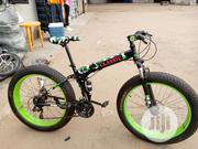 V8 Big Tyre Folding Sport Bicycle | Sports Equipment for sale in Kano State, Kano Municipal