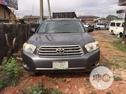 Toyota Highlander 2008 Limited 4x4 Gray | Cars for sale in Edo State, Benin City