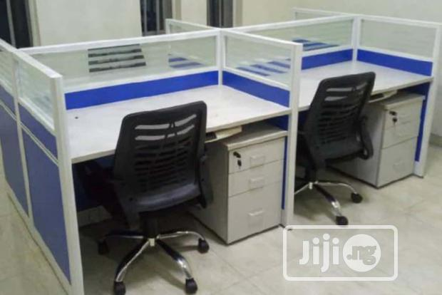 Imported New 4-seater Office Workstation Table