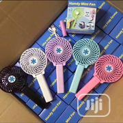 Mini Rechargeable Hand Fan | Home Accessories for sale in Lagos State, Lekki Phase 2