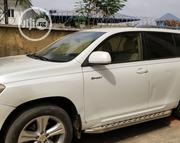 Toyota Highlander 2008 Sport White | Cars for sale in Imo State, Owerri
