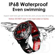 L8 Smart Watch Phone Call ECG Heart Rate Ip68 Fitness Watch | Smart Watches & Trackers for sale in Lagos State, Ikeja