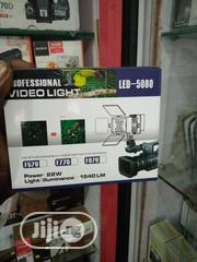 LED Video Light 5080 | Accessories & Supplies for Electronics for sale in Lagos State, Lagos Island
