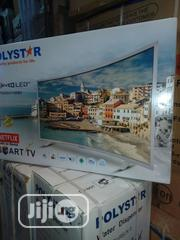 Polystar Smart 4k Tv, 32 Inches Curve | TV & DVD Equipment for sale in Lagos State, Ojo