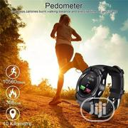 Smart Watch With GSM Sim Remote Camera Sport Watch-black   Smart Watches & Trackers for sale in Lagos State, Mushin