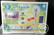 Super Vision Rechargeable Dc/Ac Fan With 2 Battery | Electrical Equipments for sale in Lagos State, Ojo