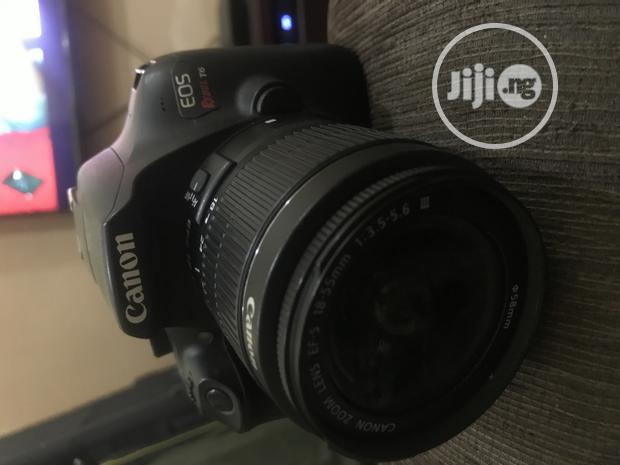 Archive: EOS Canon Rebel T6 With Lens (EFS 18-54mm) Good as New!