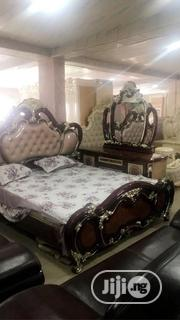 Royal Bed With Dressing Mirrow | Furniture for sale in Lagos State, Amuwo-Odofin
