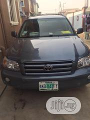 Toyota Highlander V6 4x4 2006 Blue | Cars for sale in Lagos State, Isolo