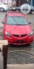 Pontiac Vibe 2005 1.8 AWD Red | Cars for sale in Lagos Mainland, Lagos State, Nigeria