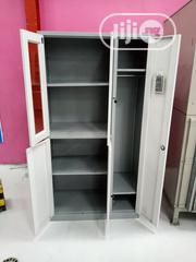 Quality Metal Cupboard With Wardrobe Inside | Furniture for sale in Lagos State, Ojo