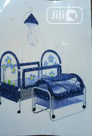 Baby Infant Double Cot Bed Crib With Nets   Children's Furniture for sale in Lagos State, Lagos Island