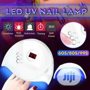 12 LED Nail Lamp Gel Nail Polish Dryer UV Light Fast Curing Timer | Tools & Accessories for sale in Lagos State, Lagos Island