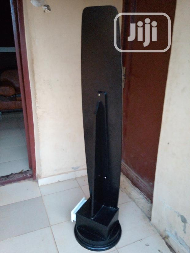 Archive: Standing Mirror With Safe