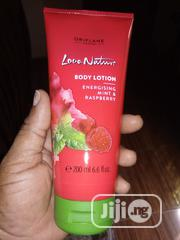 Love Nature Energizing Mint and Raspberry Body Lotion | Skin Care for sale in Lagos State, Egbe Idimu