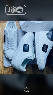 Philip Plein White Sneakers | Shoes for sale in Lagos State, Lagos Island