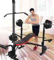 Commercial Weight Bench With 100kg Weight | Sports Equipment for sale in Lagos State, Lagos Mainland
