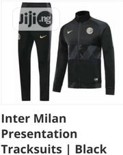 Brand New Inter Milan Presentation Tracksuit Black | Sports Equipment for sale in Lagos State, Surulere