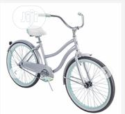 "Huffy 24"" Cranbrook Womens Comfort Cruiser Bike Silver 