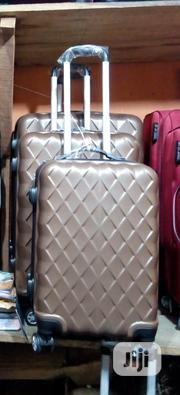 3 Piece ABS Spinner Travel Luggage Set in Brown | Bags for sale in Lagos State, Ikeja