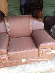Leather Sofa Complete Set | Furniture for sale in Lagos State, Ajah