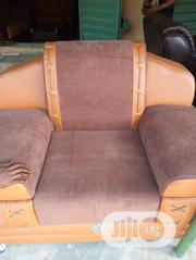 Leather Sofa Complete Set | Furniture for sale in Lagos State, Victoria Island