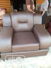 Leather Sofa Complete Set | Furniture for sale in Lagos State, Magodo