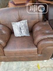 Leather Sofa Complete Set | Furniture for sale in Lagos State, Lekki Phase 1