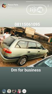 Toyota Avensis 2002 2.0 D Verso Green | Cars for sale in Edo State, Egor