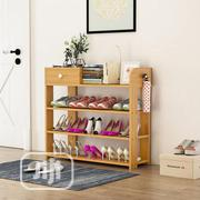 Multi-layer Simple Wooden Shoe Rack | Furniture for sale in Enugu State, Enugu
