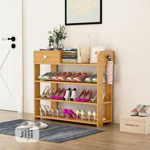 Multi-layer Simple Wooden Shoe Rack