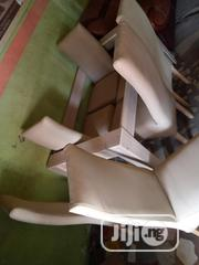 White Leather Dinning Set   Furniture for sale in Lagos State, Lekki Phase 1