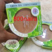 Kiss Beauty Greentea Compact Powder | Makeup for sale in Lagos State, Ikeja