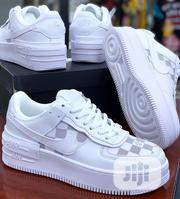 Air Force 1 With Louis Vuitton Print | Shoes for sale in Lagos State, Surulere