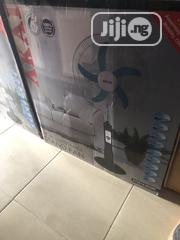 Akai 18inchs Rechargeable Fan With Completely 8hours. Japan Quality | Home Appliances for sale in Lagos State, Ikeja