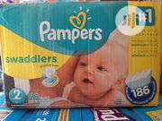 Pampers Swaddler ( 186 Diapers) | Baby & Child Care for sale in Lagos State, Ikoyi
