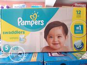 Pampers Swaddler (120 Diapers) Size 5 | Baby & Child Care for sale in Lagos State, Ikoyi