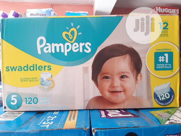 Pampers Swaddler (120 Diapers) Size 5