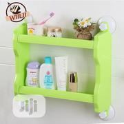 Bathroom Shelf 2-tier Multifunctional Layer Rack Wall Mounted | Home Accessories for sale in Lagos State, Lagos Island