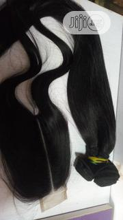 20inches Straight Plus Kim K Closure | Hair Beauty for sale in Abuja (FCT) State, Jabi