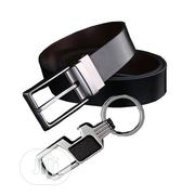 Black Brown Reversible Double-Sided Pu-Leather Belt for Men | Clothing Accessories for sale in Ogun State, Abeokuta South