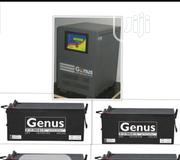 Complete Set Of Genus Battery With 4p Of 200ah 12volts Genus Battery | Solar Energy for sale in Lagos State, Lagos Mainland